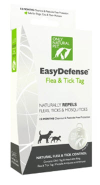 Chemical free flea, tick and Mosquito 12-month's protection, available from www.carolesdoggieworld.com