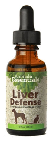 An herbal remedy to stimulate and protect liver function in dogs, cats and other animals that exhibit signs of liver stress or toxicity.