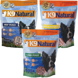 All Natural Raw Nibblets, available now at www.carolesdoggieworld.com - features all grass-fed, ranch raised meat. No grains, additives or preservatives.