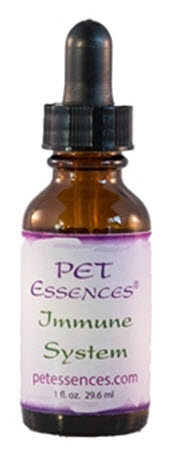 Pet flower essence designed to balance the emotional attitudes that present as food allergies that could benefit from an immune system booster. Available from www.carolesdoggieworld.com