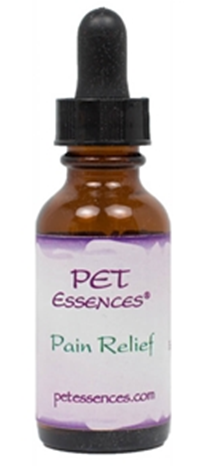 Flower Essences for Pain, ideal for use with cuts, bruises, chronic pain, congestion, recovering from injury and surgery - www.carolesdoggieworld.com