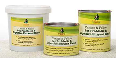 Provide your dog with digestive support with this supplement featuring all natural enzymes and probiotics from www.carolesdoggieworld.com. Perfect for pets on medication or pets experiencing stress.