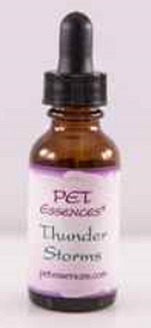 Flower essence to help with thunder and loud noises